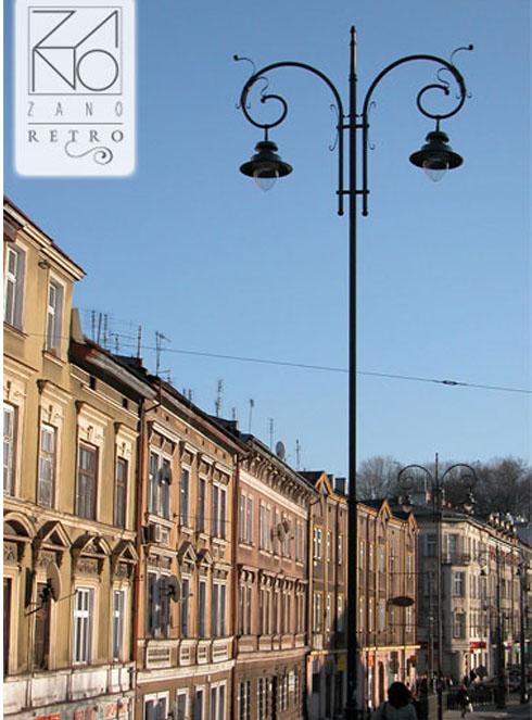latarnia w stylu retro krakow